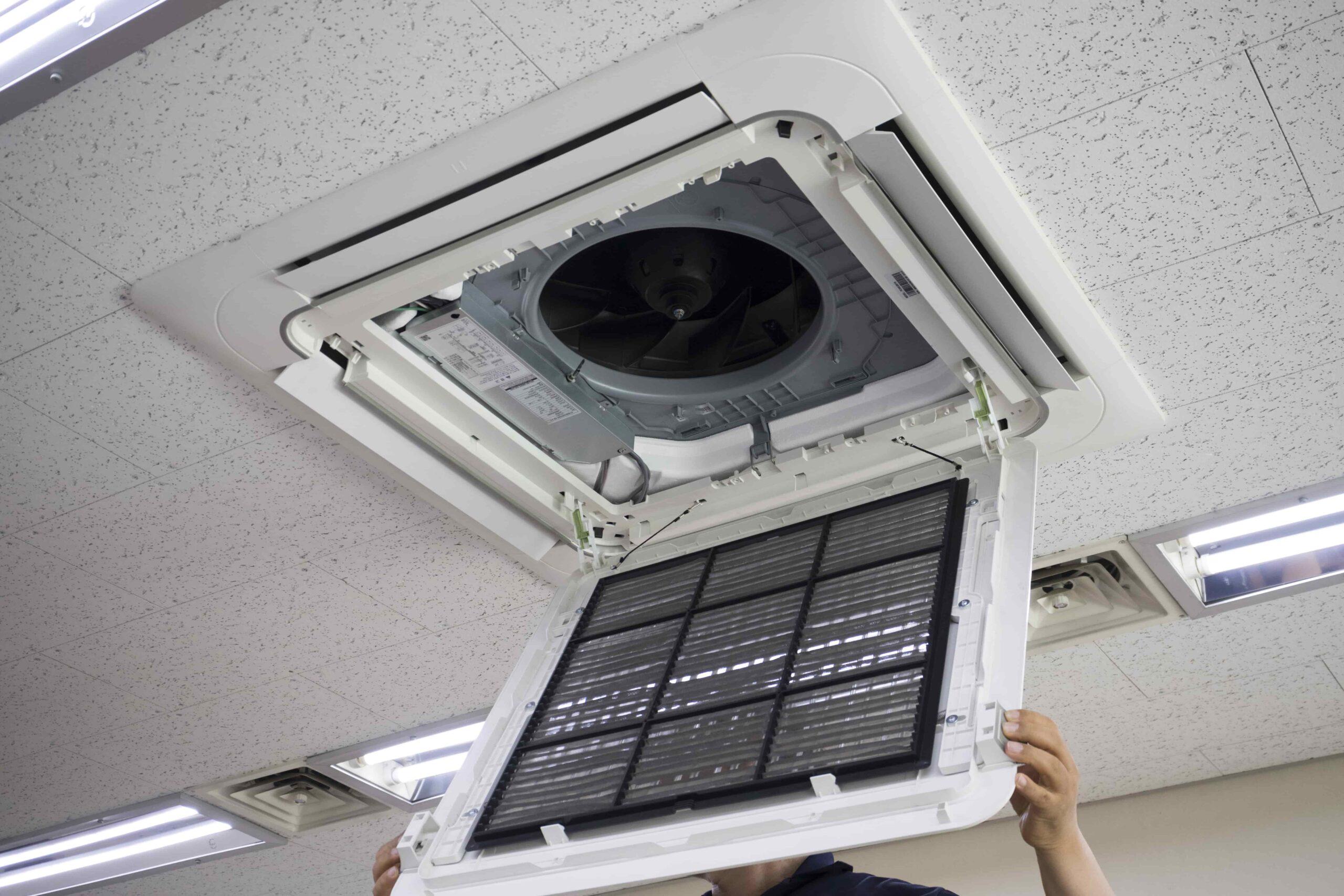 業務用エアコンを自分で掃除する際の注意点
