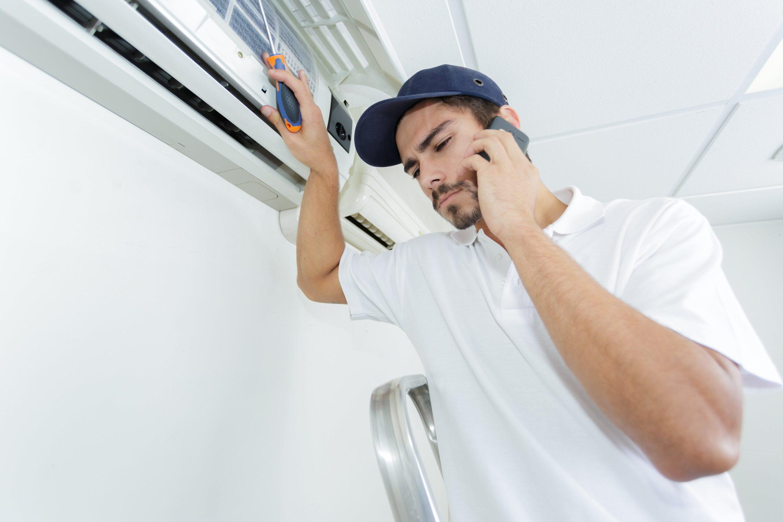 業務用エアコンが効かない、故障?それとも不調なだけ?
