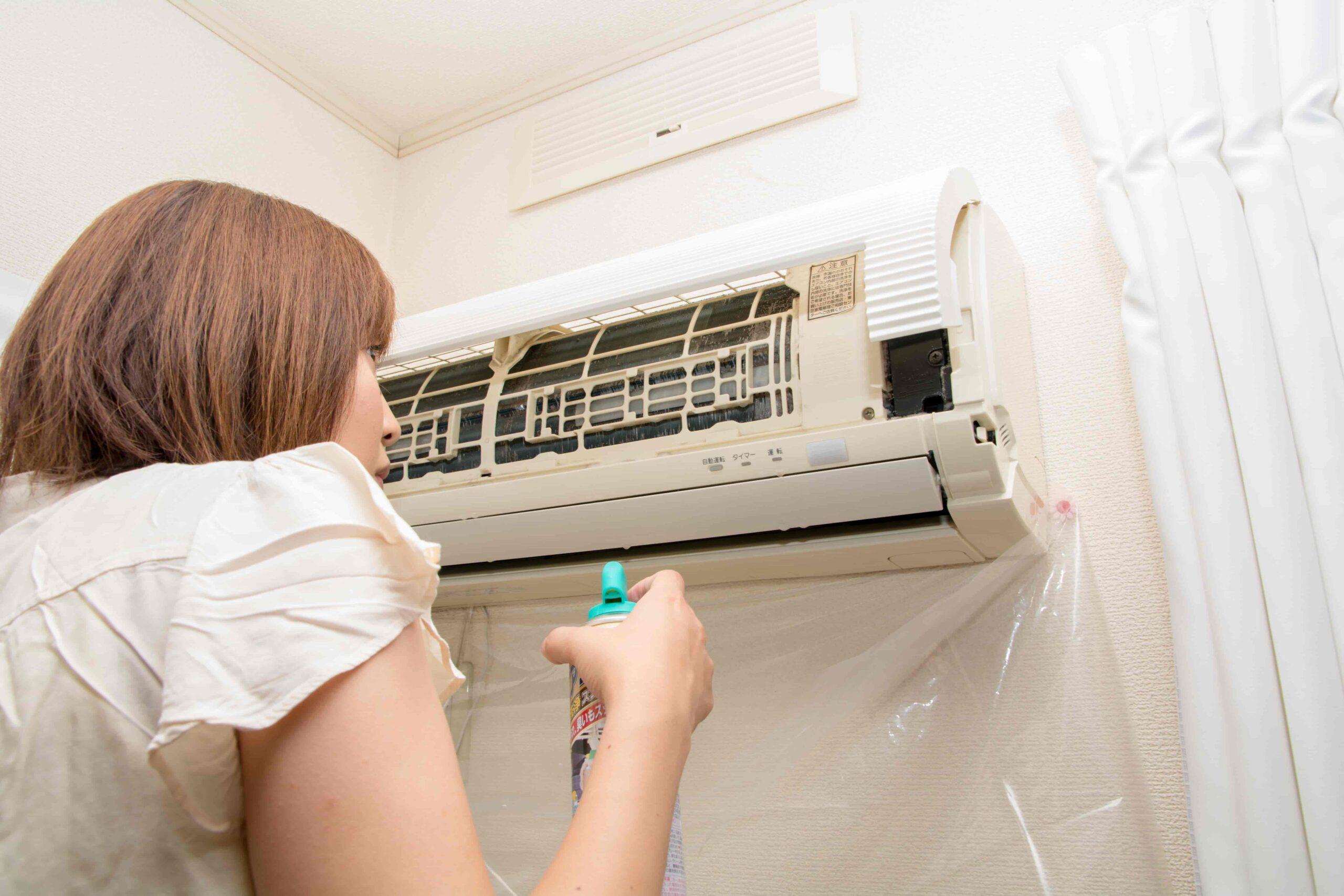 業務用エアコンの効きを改善する方法と自分で掃除する方法